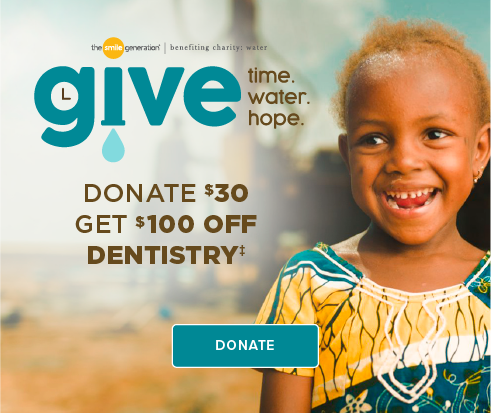 Donate $30, Get $100 Off Dentistry - Stockdale Smiles Dentistry and Orthodontics
